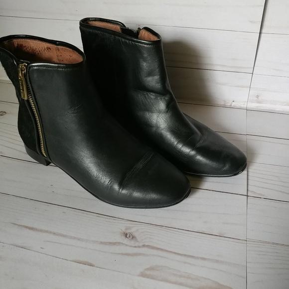 Louise et Cie Shoes - Leather ankle boots-Black-7M